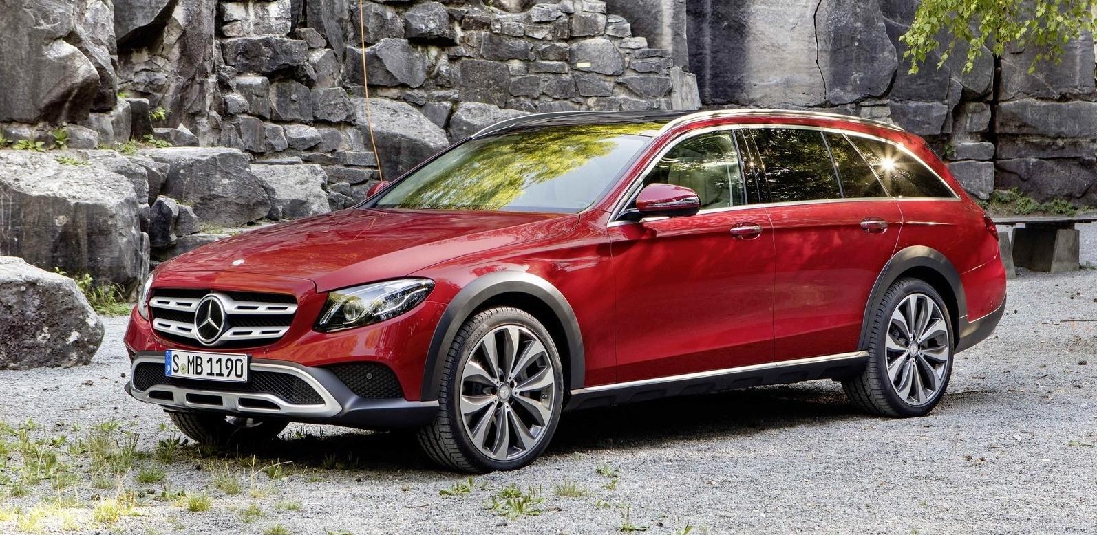 Mercedes Classe E All-Terrain, elegante fuoristrada