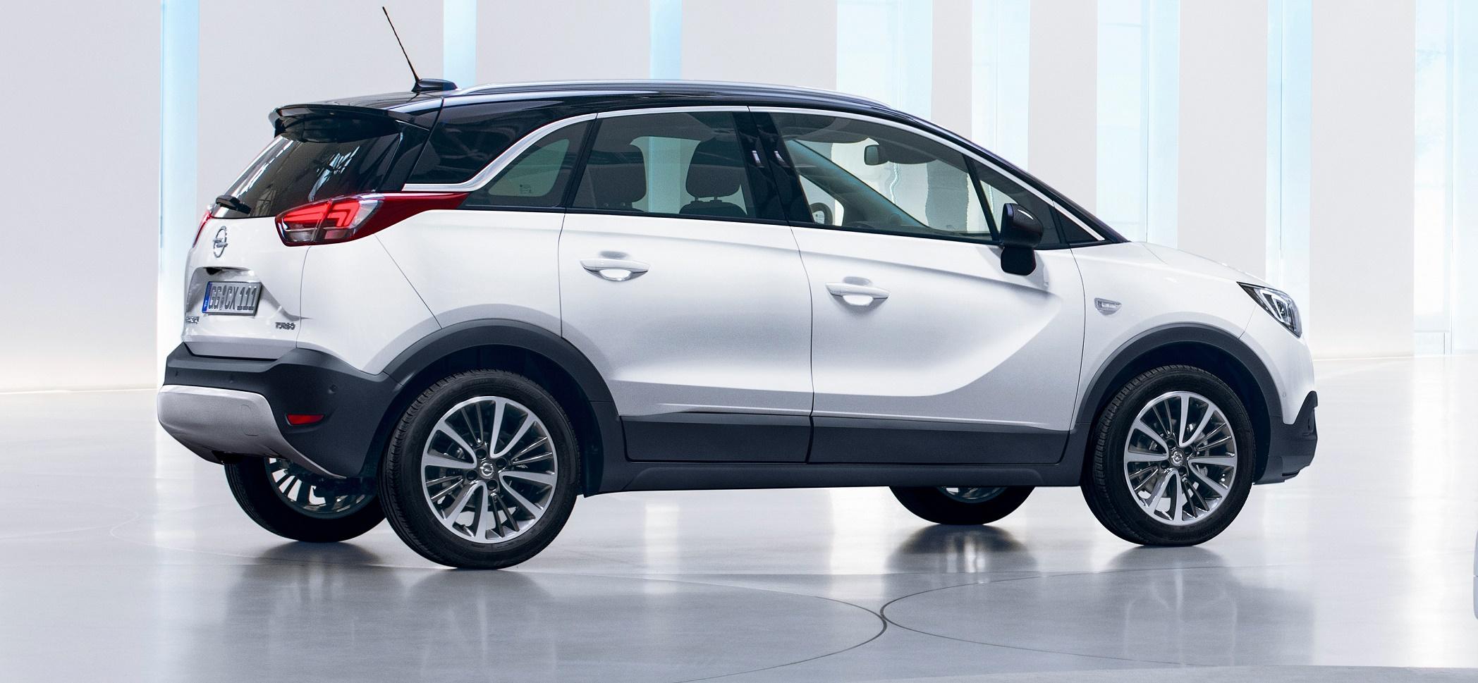Eleganza urbana e fascino da SUV: è il nuovo Opel Crossland X