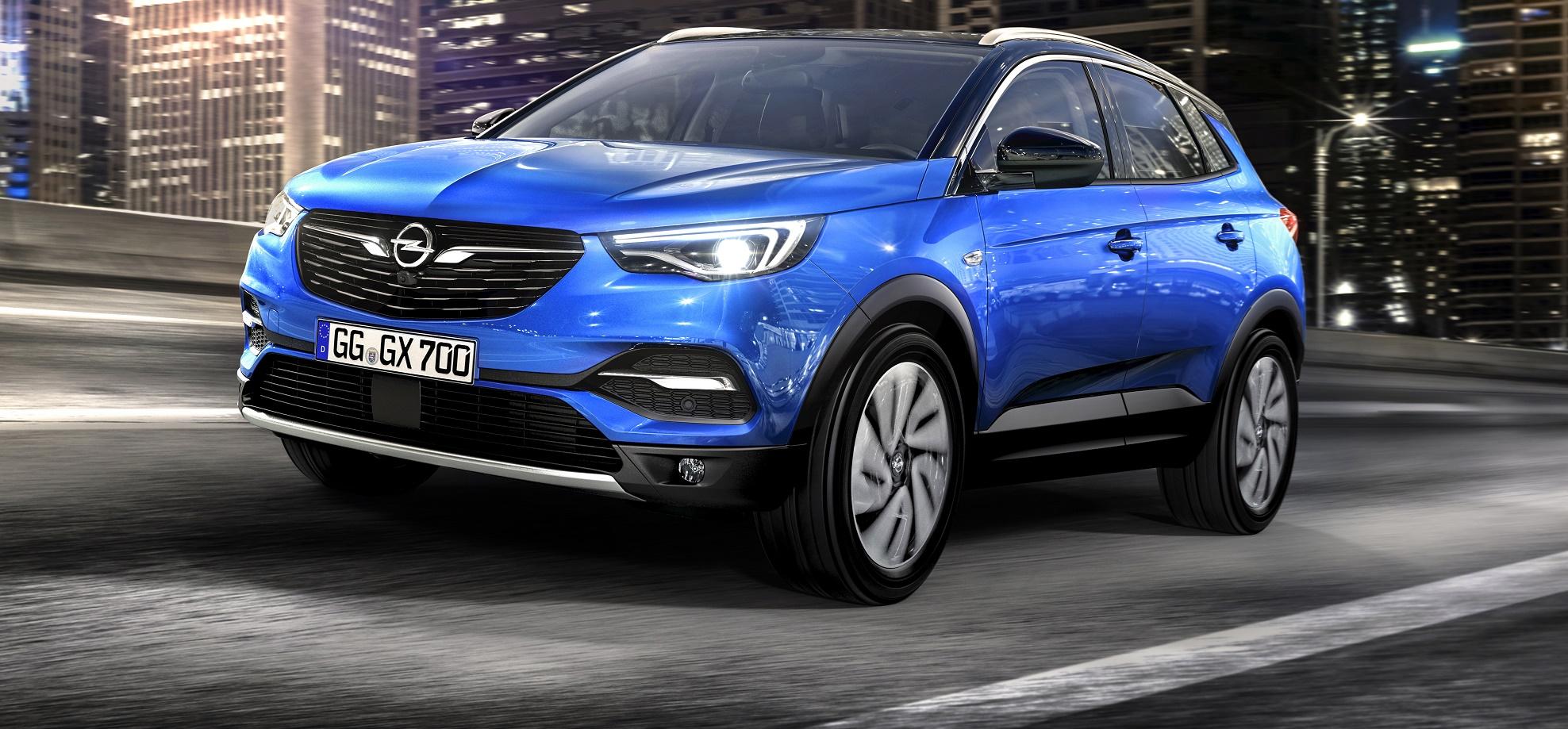 Opel Grandland X, il nuovo Suv compatto e sportivo