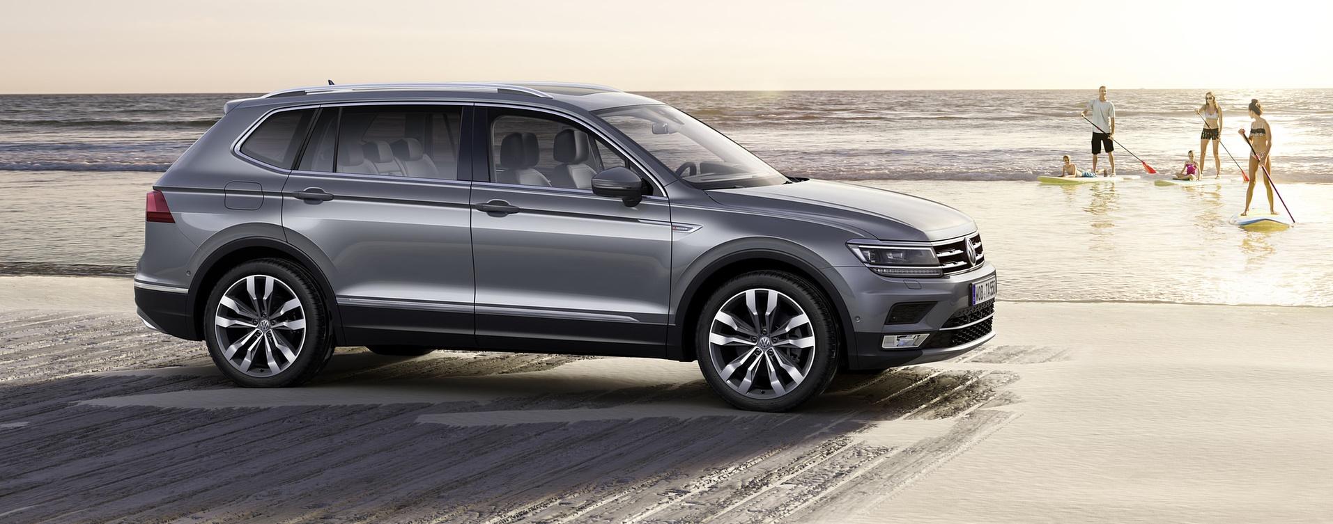 Nuova Volkswagen Tiguan Allspace: più spazio per tutti