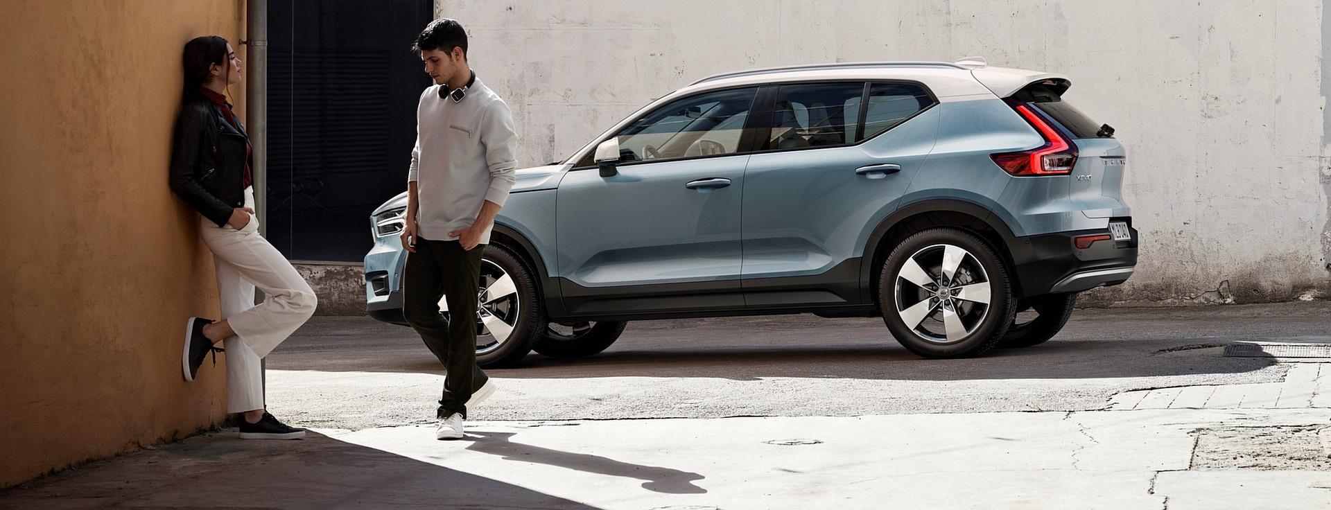 Volvo XC40, il SUV compatto sposa lusso e praticità