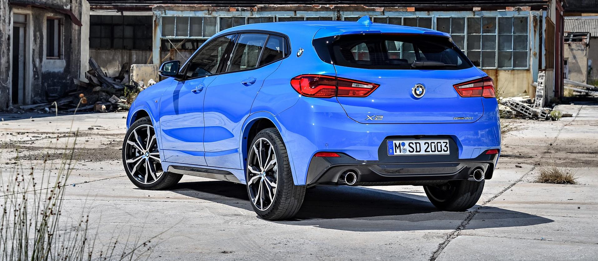 BMW X2, il crossover per chi ama osare