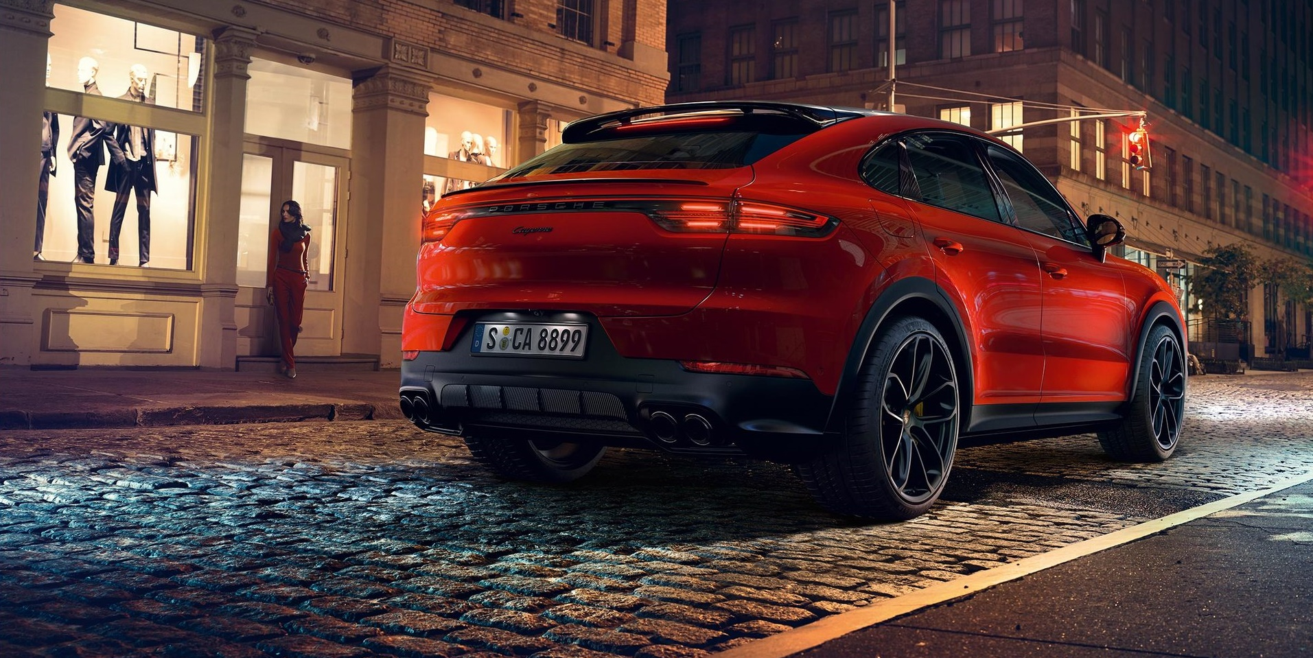 Porsche presenta la nuova Cayenne Coupé