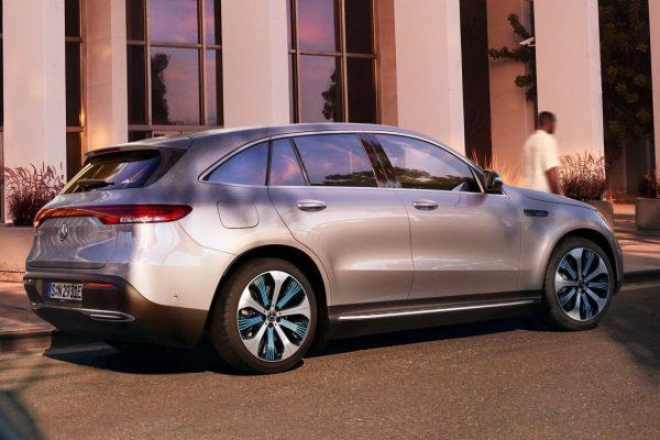 Noleggio auto lungo termine EQC Mercedes 2