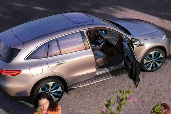 Noleggio auto lungo termine EQC Mercedes 4
