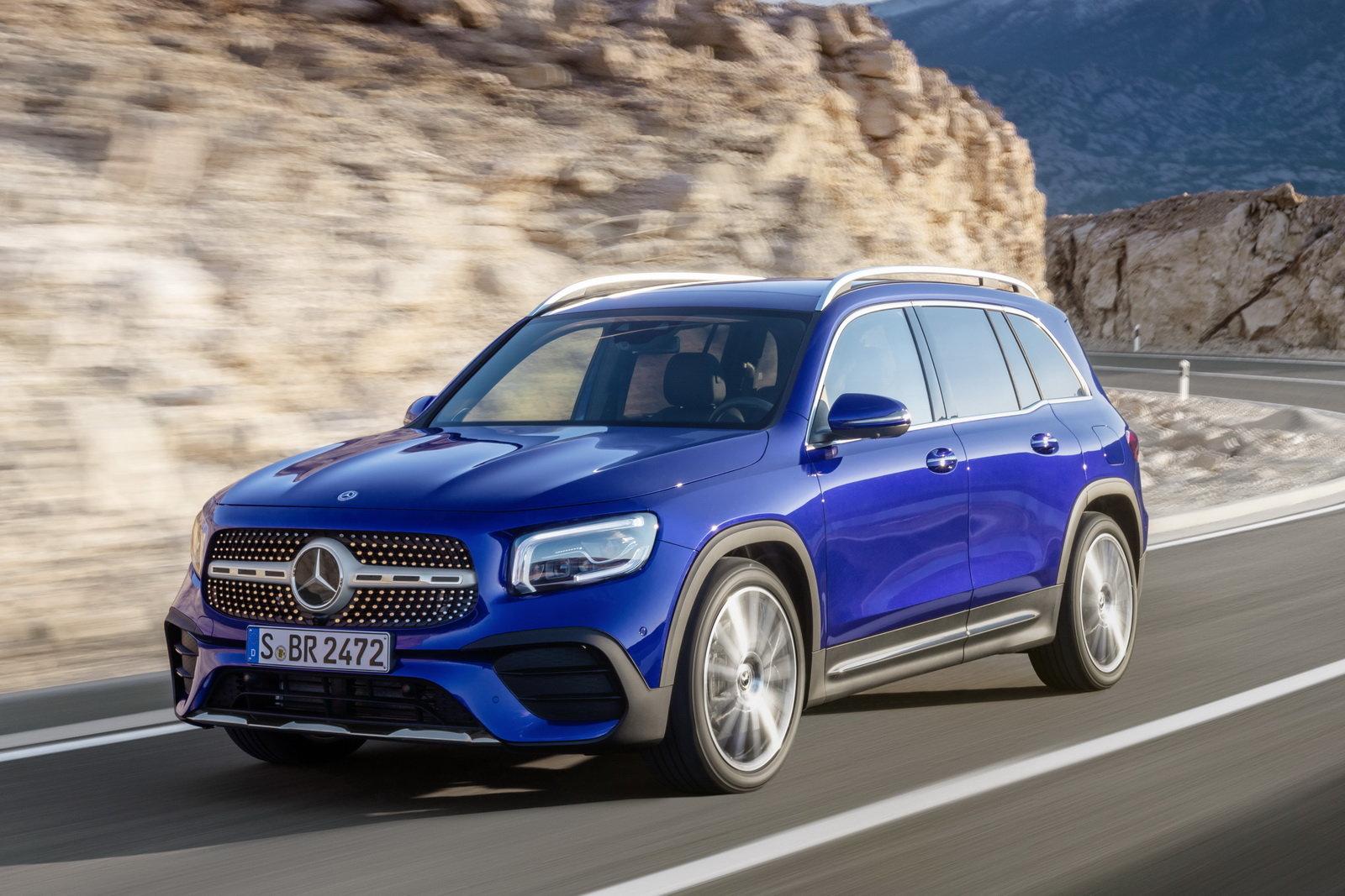 Noleggio auto lungo termine Mercedes - Benz GLB