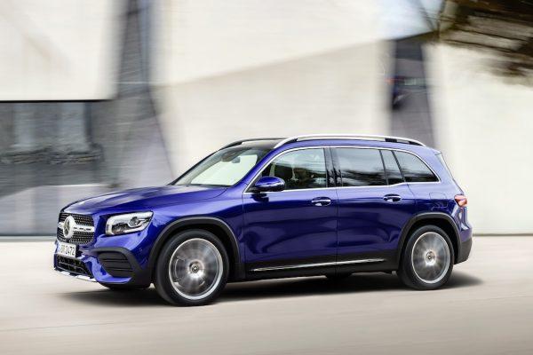 Mercedes-Benz GLB, galaxyblau // Mercedes-Benz GLB galaxy blue