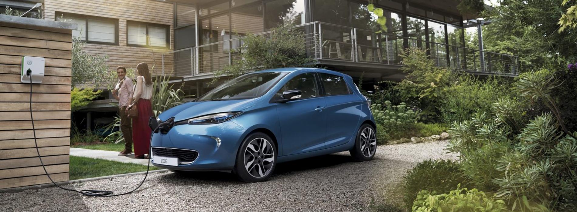 390 km di autonomia! La Renault Zoe 2019