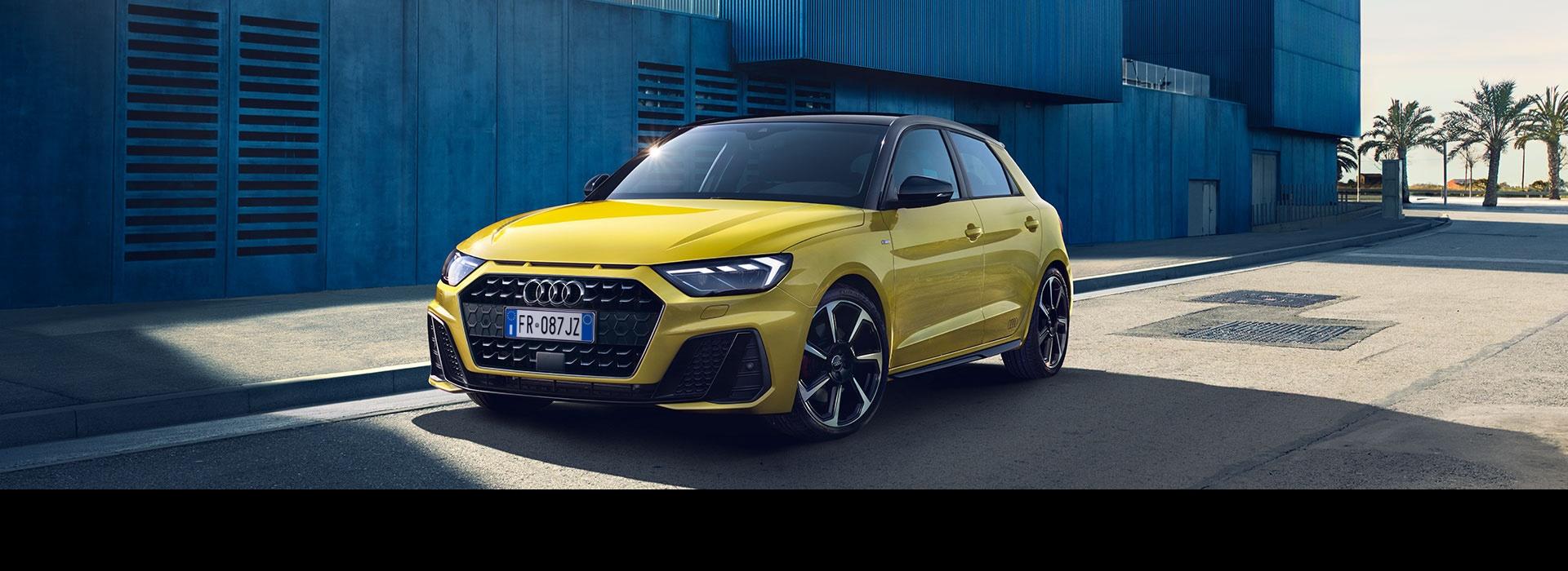 Spaziosa, sportiva, emozionante. La nuova Audi A1 Sportback.