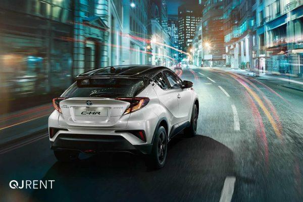 Noleggio lungo termine Toyota C-HR business 1