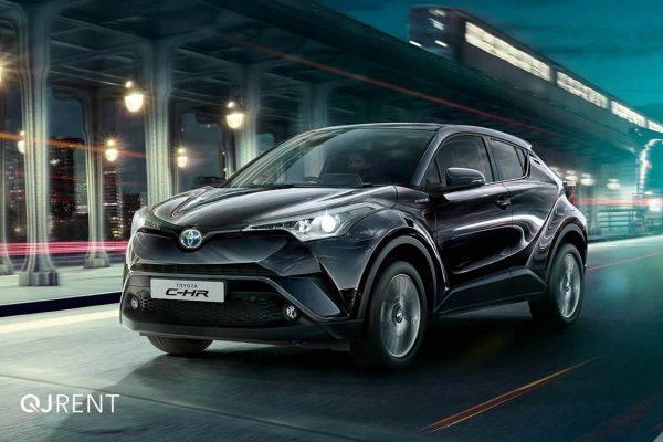 Noleggio lungo termine Toyota C-HR business 2