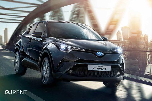 Noleggio lungo termine Toyota C-HR business 3