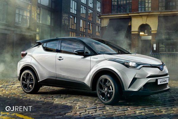 Noleggio lungo termine Toyota C-HR business 4