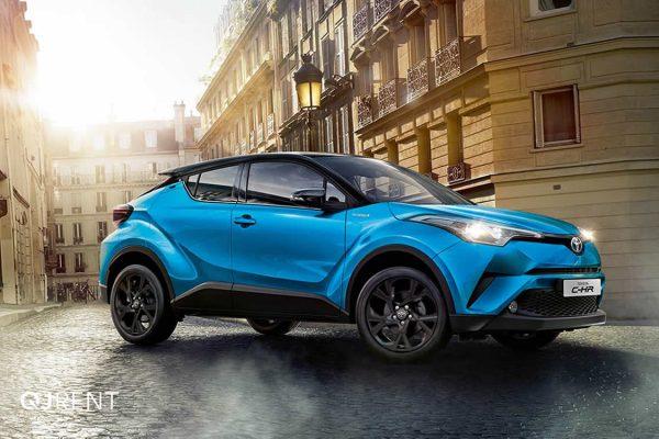 Noleggio lungo termine Toyota C-HR business 5