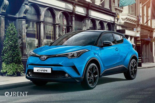 Noleggio lungo termine Toyota C-HR business 6