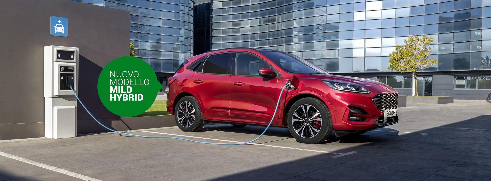 Ford Kuga MHEV, nuova Mild Hybrid dell'ovale blu